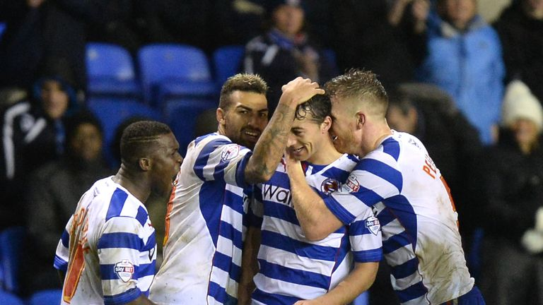 Stephen Kelly (2nd right): Celebrates his last-gasp leveller