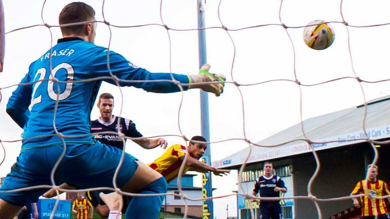 Lyle Taylor: Scores his second in Partick Thistle's draw with Ross County