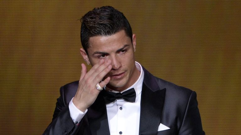 Ronaldo: no longer seen as the villain