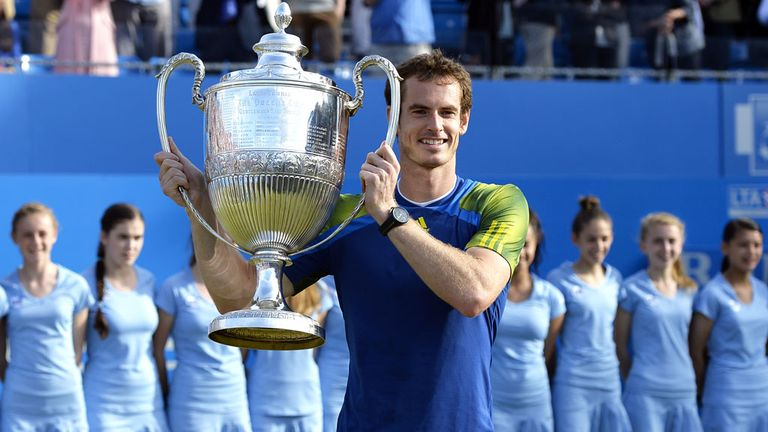 Murray has won the Queen's Club title five times during his career
