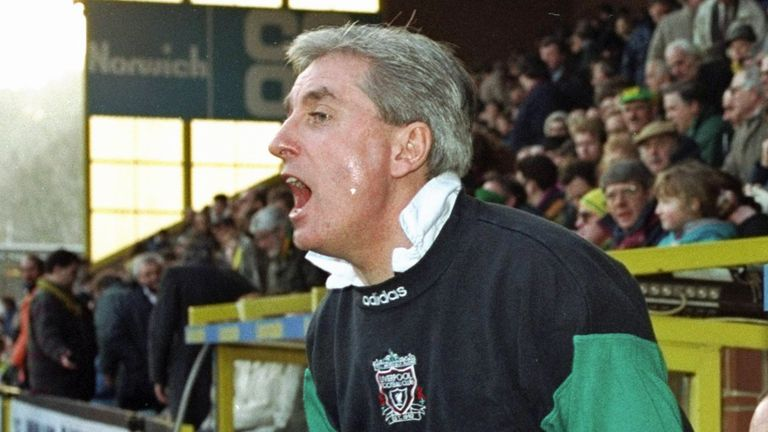 Roy Evans secured four top-four finishes with Liverpool