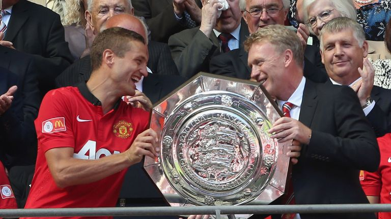 Nemanja Vidic: Remains Manchester United captain