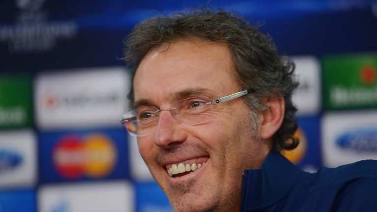 Laurent Blanc: Fully focused on the game against Sochaux