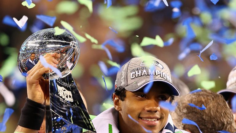 Four-time Pro Bowler Russell Wilson won the Super Bowl with Seattle in 2014