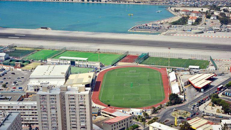 Victoria Stadium: Gibraltar's current home stadium