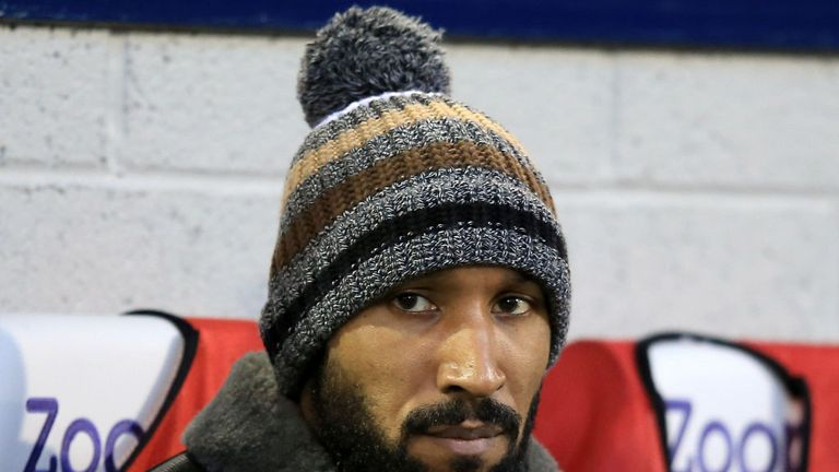 Nicolas Anelka: The striker has joined Indian side Mumbai FC on a short-term deal