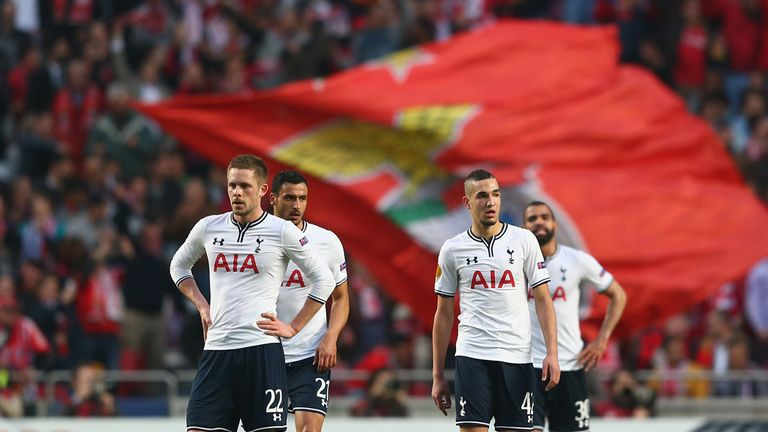 Tottenham: Came close to matching Benfica's first-leg win
