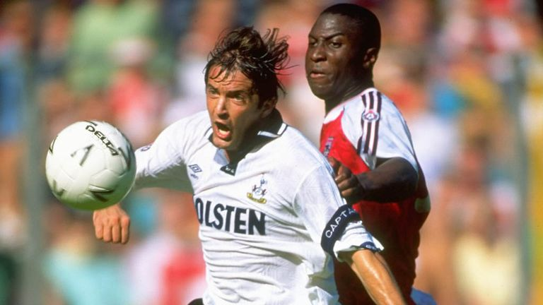 Arsenal's two FA Cup semi-finals with Spurs in 1991 and 1993 were standout derbies for Merse