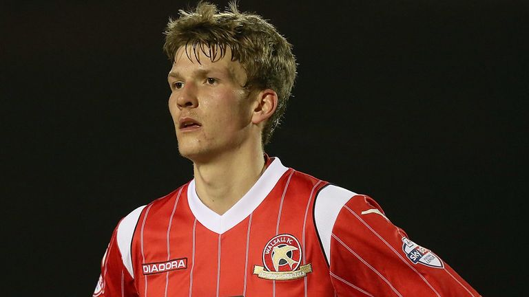 Paul Downing: Scored decisive penalty for Walsall