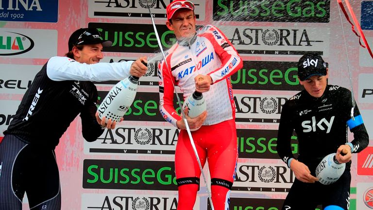 Kristoff, Cancellara and Swift celebrated on the podium