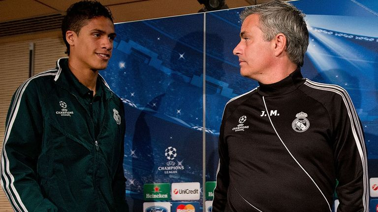 Raphael Varane was given opportunities under Mourinho at Real Madrid