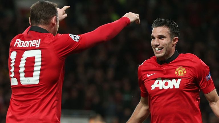 How will Rooney and Van Persie fit in?