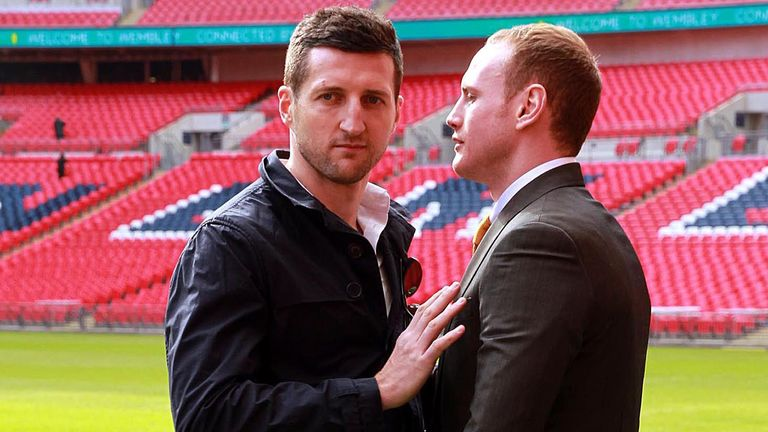 Carl Froch was always going to push George Groves at Wembley!