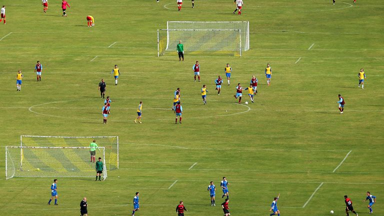 Grassroots football set for new investment. with more 3G pitches on the way