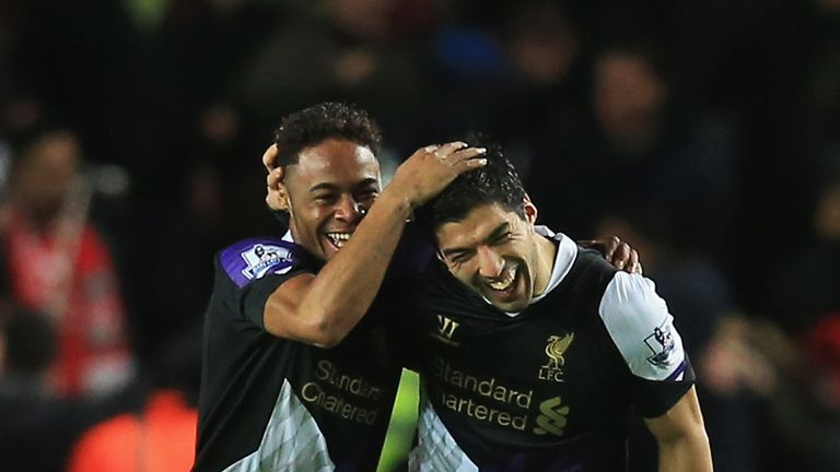 Sterling and Suarez: Liverpool heroes