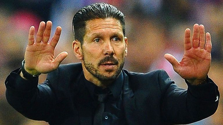 Diego Simeone: Saw Atletico Madrid draw a blank on home soil against Chelsea