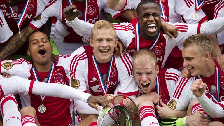 Ajax: Celebrate winning the Eredivisie title on Sunday