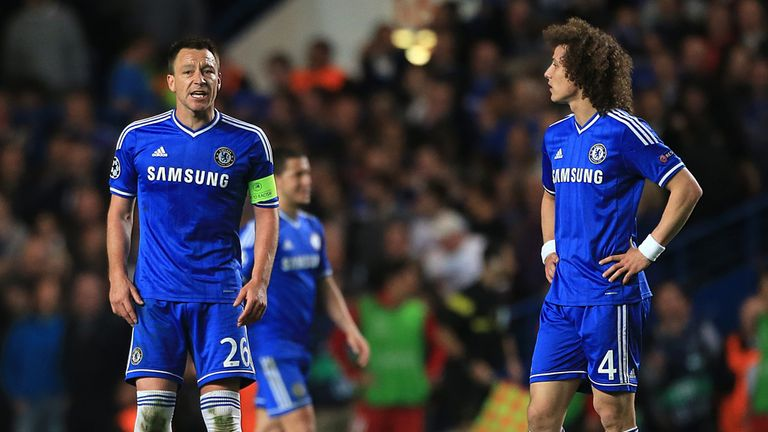 David Luiz spent three and a half seasons at Chelsea in his first spell