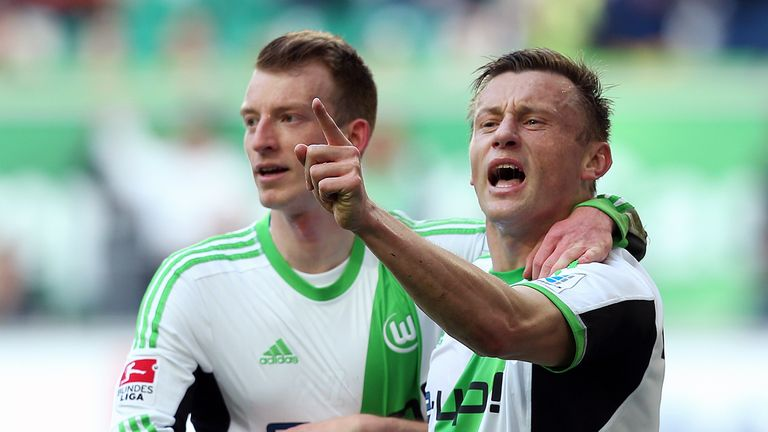Ivica Olic helped set Wolfsburg on their way to victory