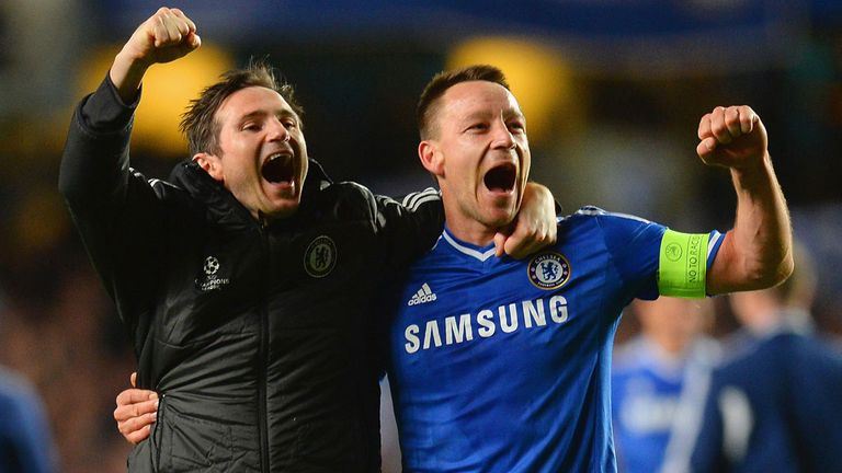 Lampard hopes former team-mate John Terry remains at the club beyond this season