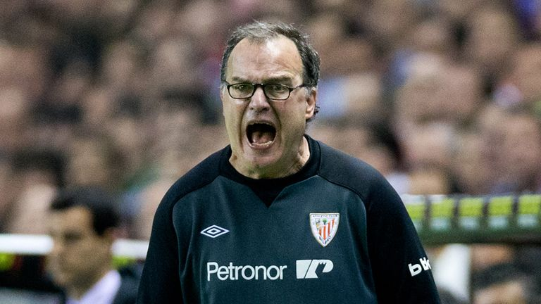 Bielsa managed Athletic Bilbao between 2011 and 2013