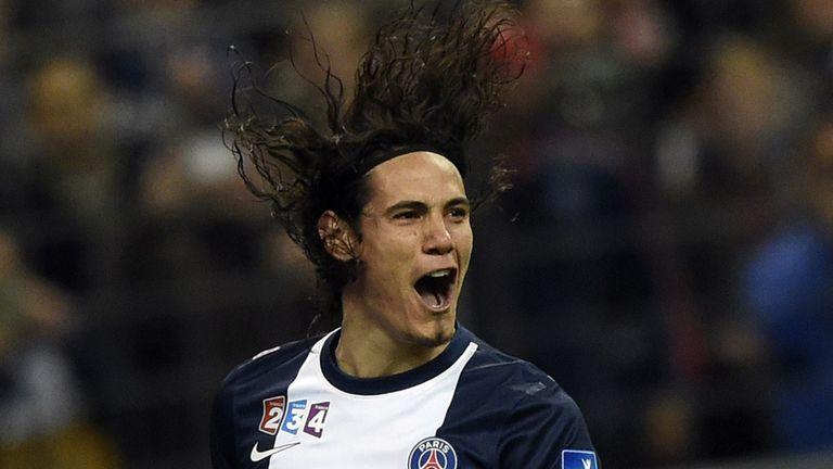 Edinson Cavani: Only moved to PSG last summer