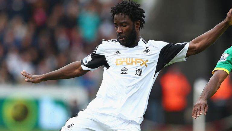 Wilfried Bony: Garry Monk has no plans to sell the striker