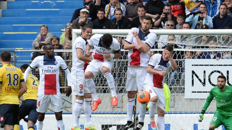 PSG: Ligue 1 leaders held to a draw by struggling Sochaux