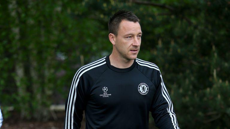 John Terry: Chelsea captain fit for Atletico Madrid showdown