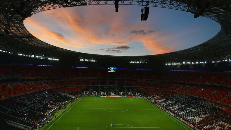 Donbass Arena: Shakhtar's home
