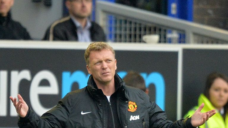 Moyes was sacked from Manchester United before the end of his first season in charge at the club