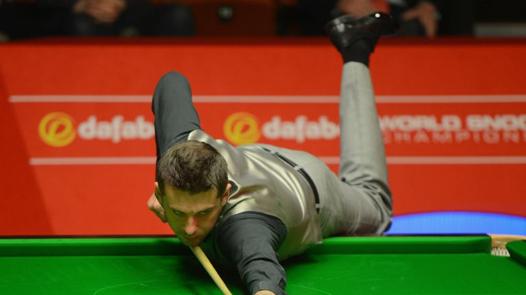 Mark Selby: Completed a 13-5 victory against Alan McManus to reach the semi-finals