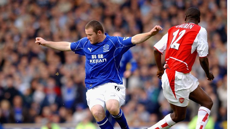 Wayne Rooney is product of Everton's academy and made his debut at 16