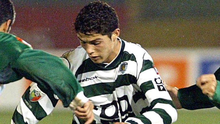 The Reds made an approach for Ronaldo while he was still at Sporting Lisbon