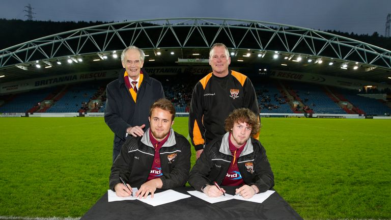 Youngster Liam Johnson and Tyler Dickinson sign professional contracts