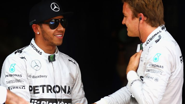 Four-one to Hamilton in Mercedes' private pole duel