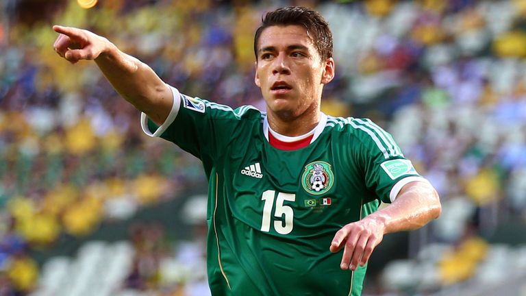 Hector Moreno: Mexico defender has suffered a broken tibia