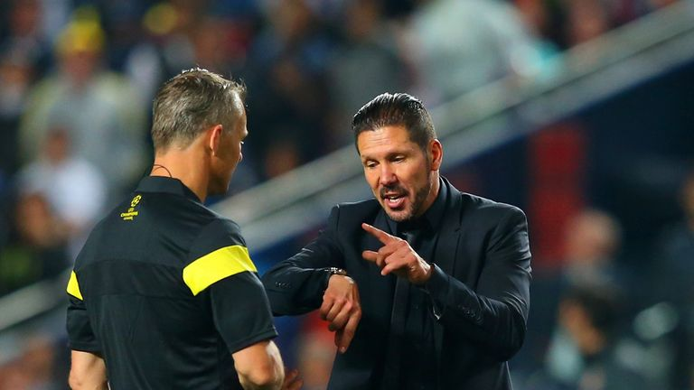 Diego Simeone: Atletico Madrid coach charged by UEFA