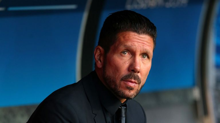 Atletico Madrid boss Diego Simeone is unlikely to leave mid-season