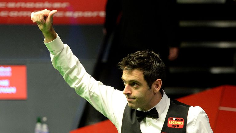 O'Sullivan will now play either Kyren Wilson or Xiao Guodong