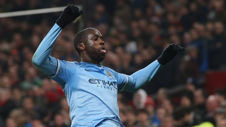 Yaya Toure: Manchester City midfielder insists he will see out his contract