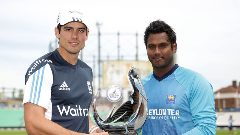 England v Sri Lanka, ODI series: Captain Alastair Cook determined to kick losing habit
