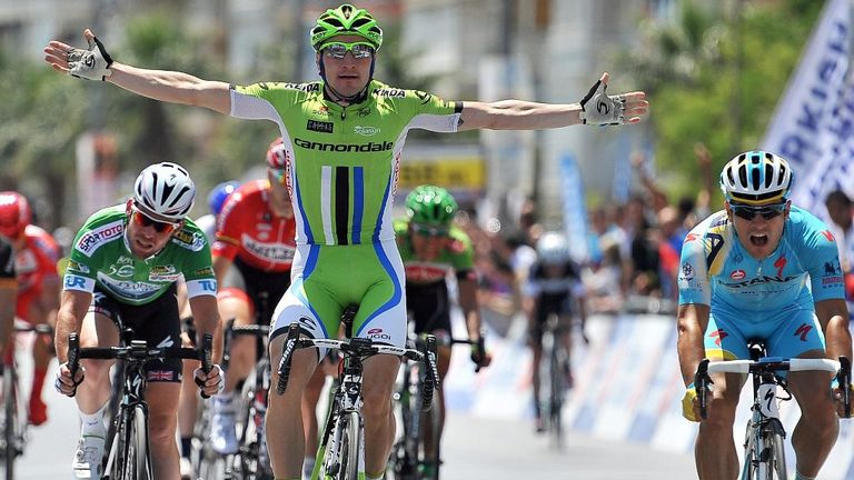 Elia Viviani defeated Mark Cavedish twice at the Tour of Turkey