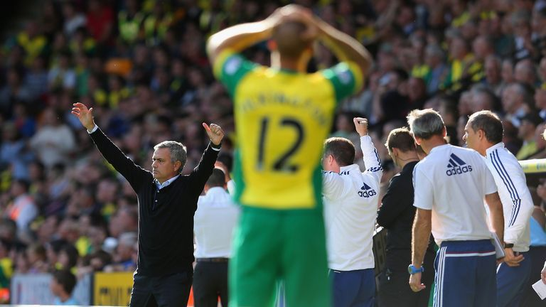 Jose Mourinho: Merse expects Chelsea to beat Norwich