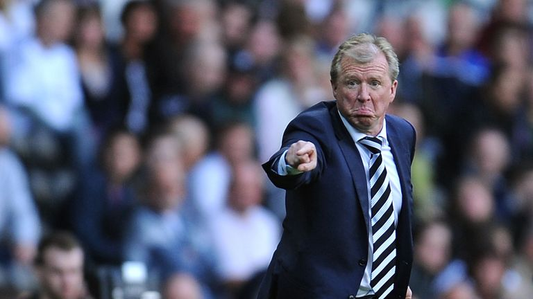 Steve McClaren: Has added Ivan Calero to Derby squad