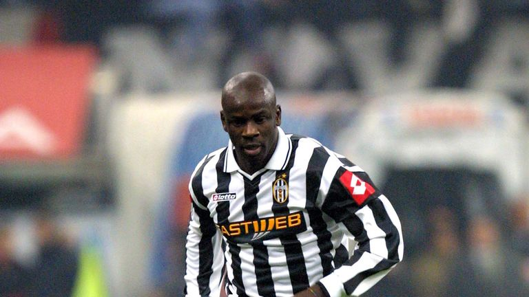 Lilian Thuram was on the losing side for Juventus in the 2003 final