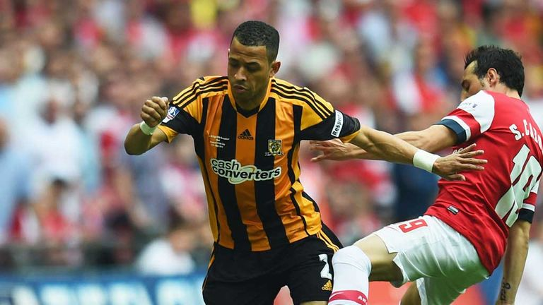 Rosenior played in the FA Cup Final for Hull against Arsenal