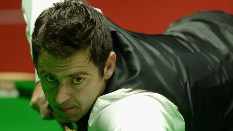 Ronnie O'Sullivan is hoping to be in Sunday's final