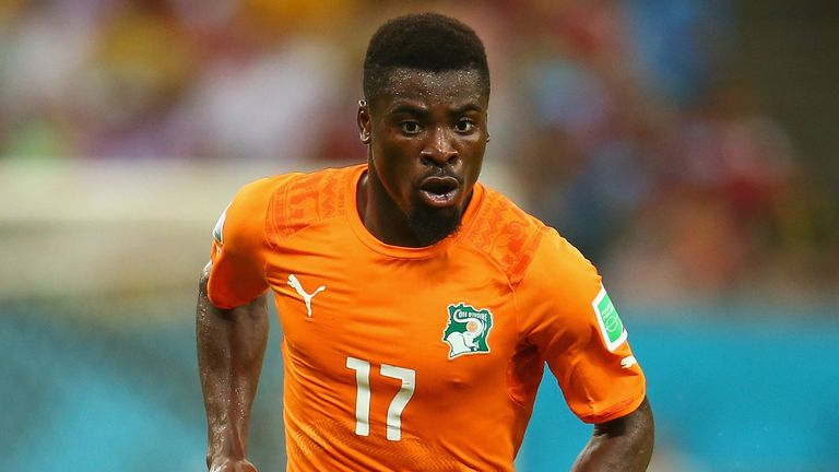 Serge Aurier: Ivory Coast international has been linked with Arsenal