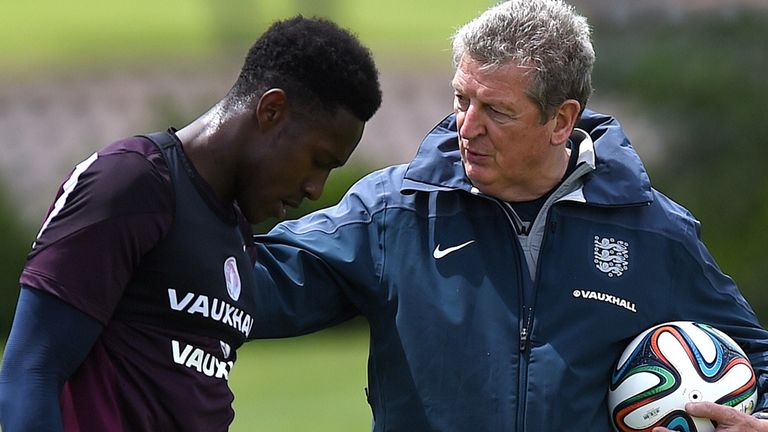 Danny Welbeck: Has been past fit to face Italy this Saturday